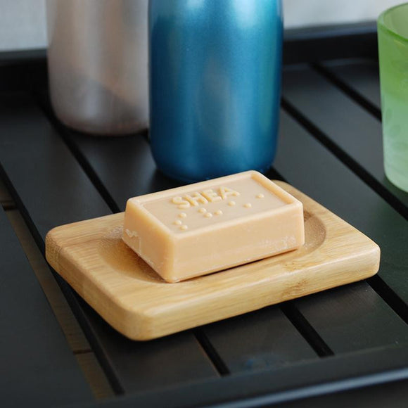 Bamboo Bath Soap Wooden Storage Holder - wayne-whale
