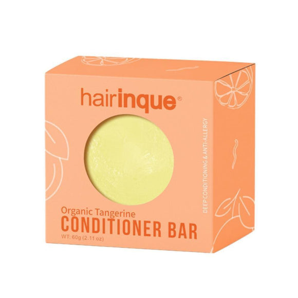 Handmade Organic Hair Mandarin Conditioner Bar - wayne-whale