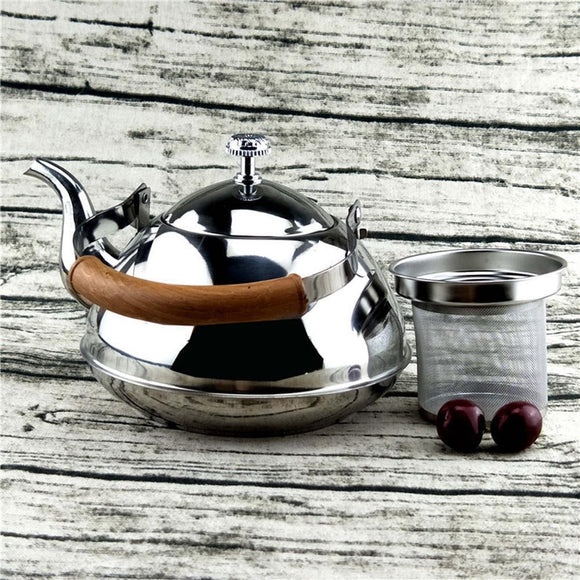 Stainless Steel Whistling Kettle - Teapot - wayne-whale