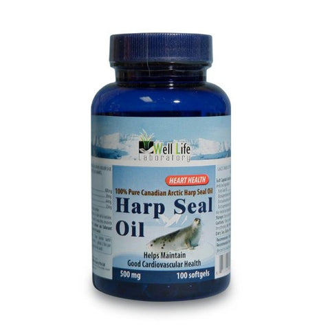 Well Life Harp Seal Oil 100s