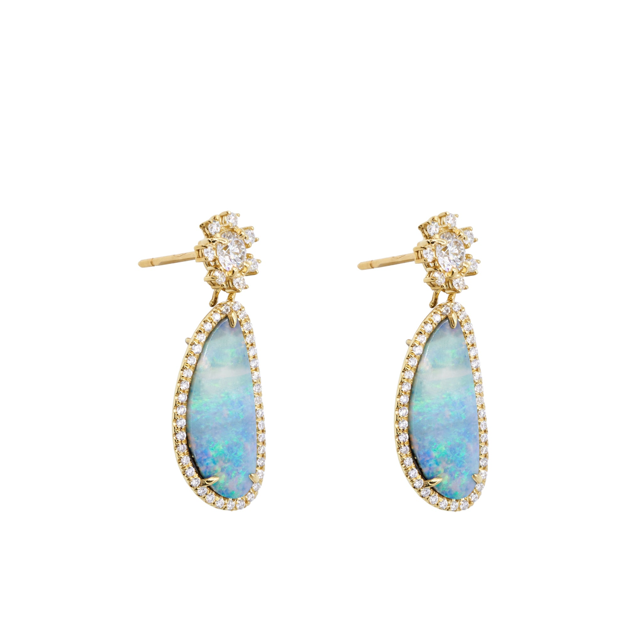 Louisa Halo Earrings