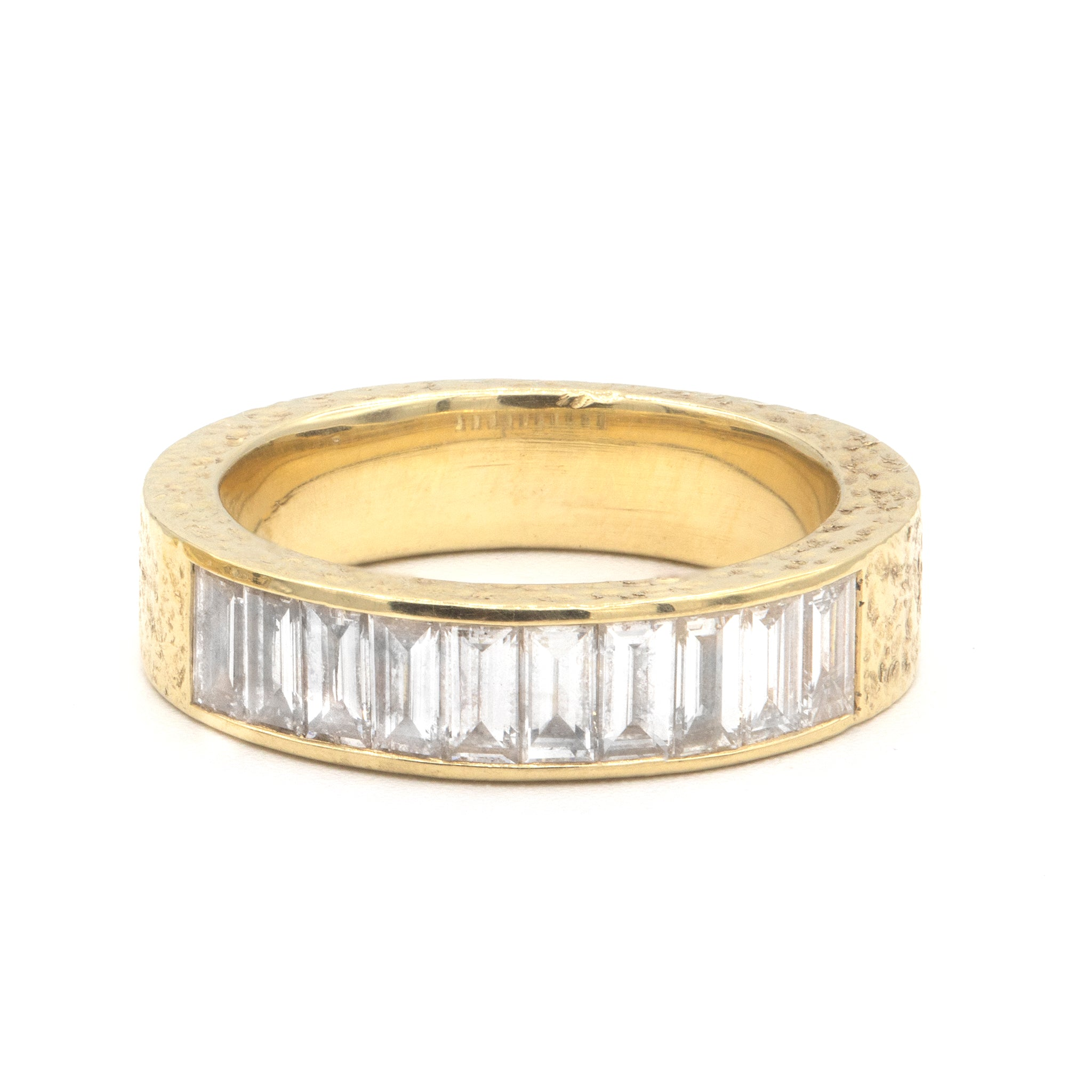 Baguette Diamond Ivy Anniversary Ring
