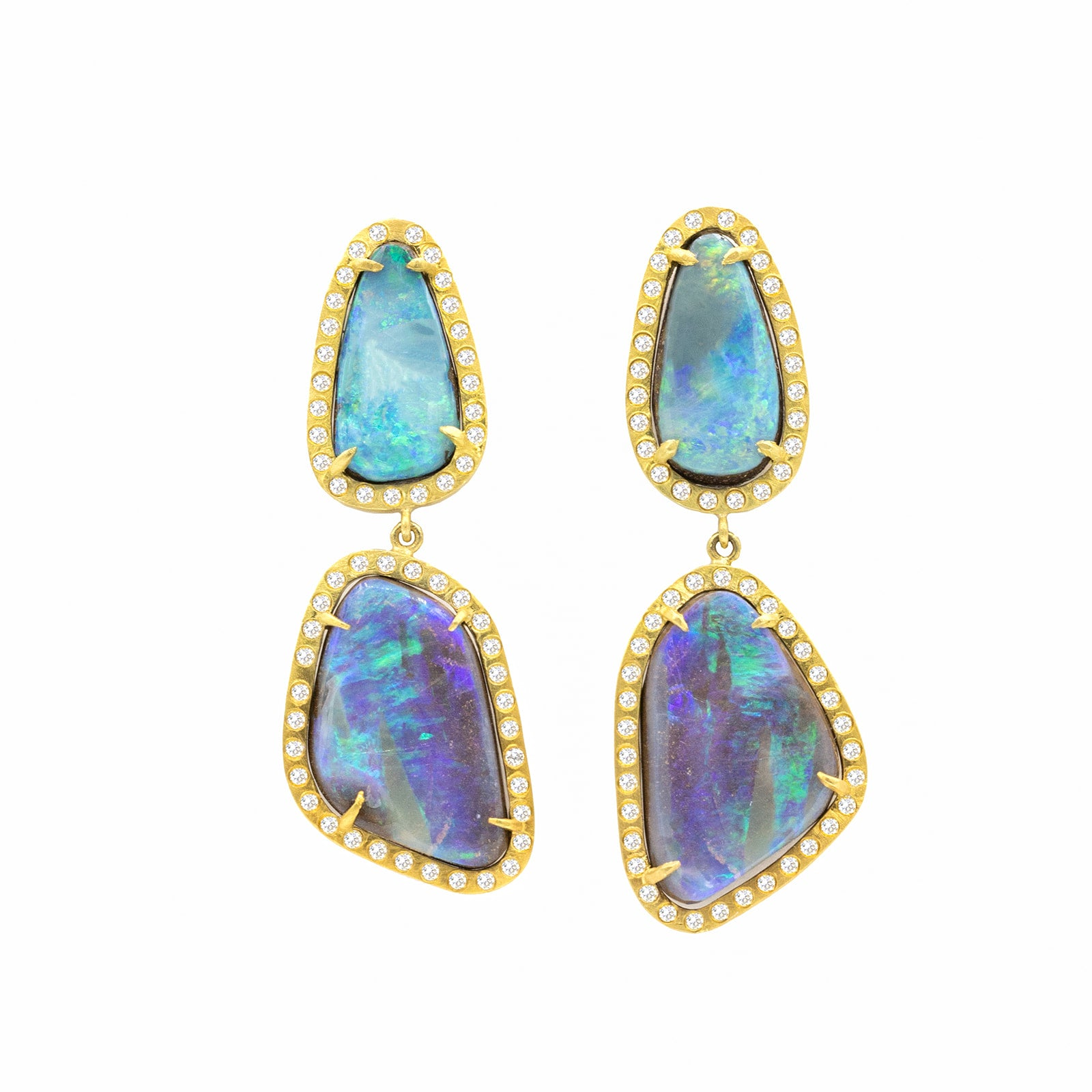 Opal Earth Earrings