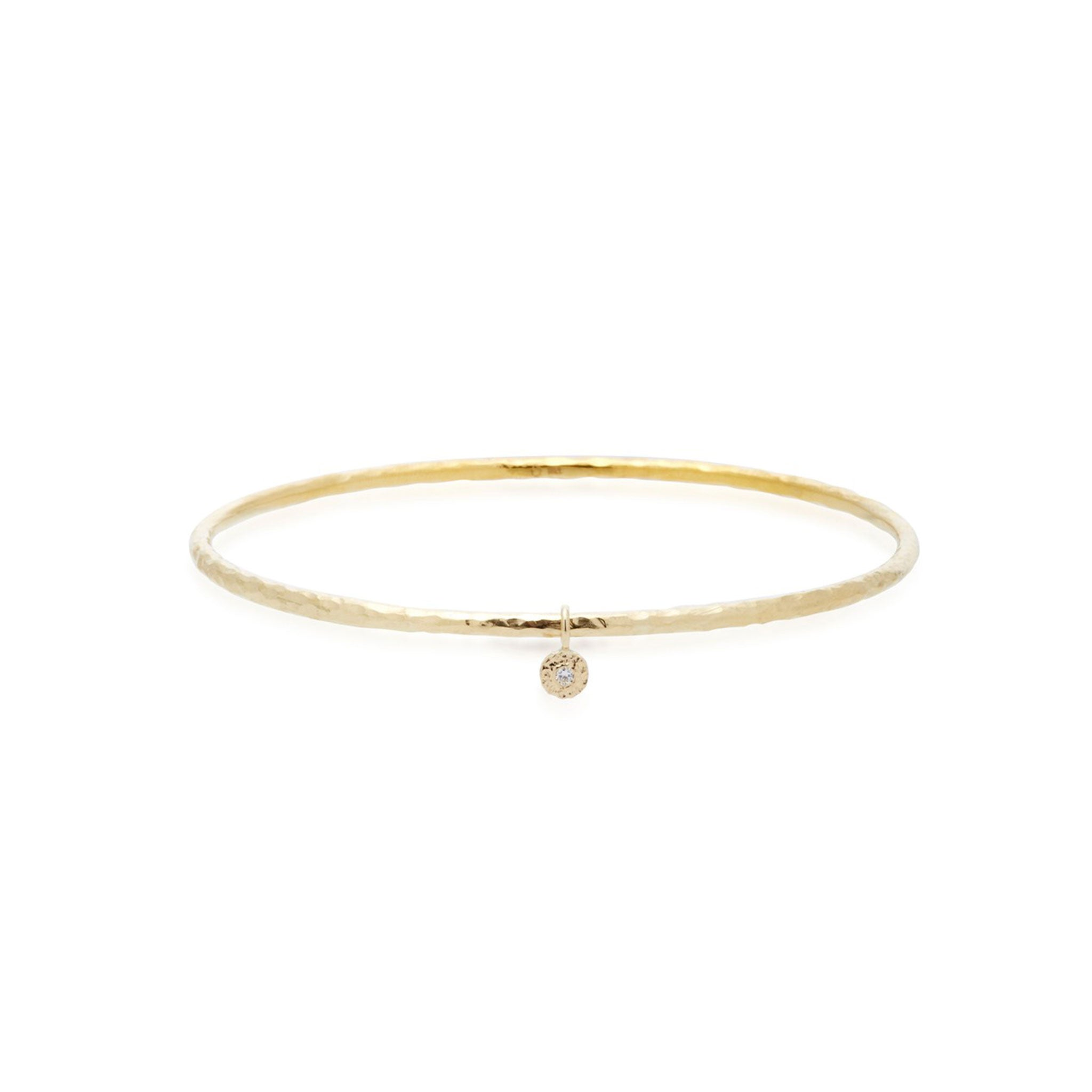 Diamond Nesting Gem Bangle
