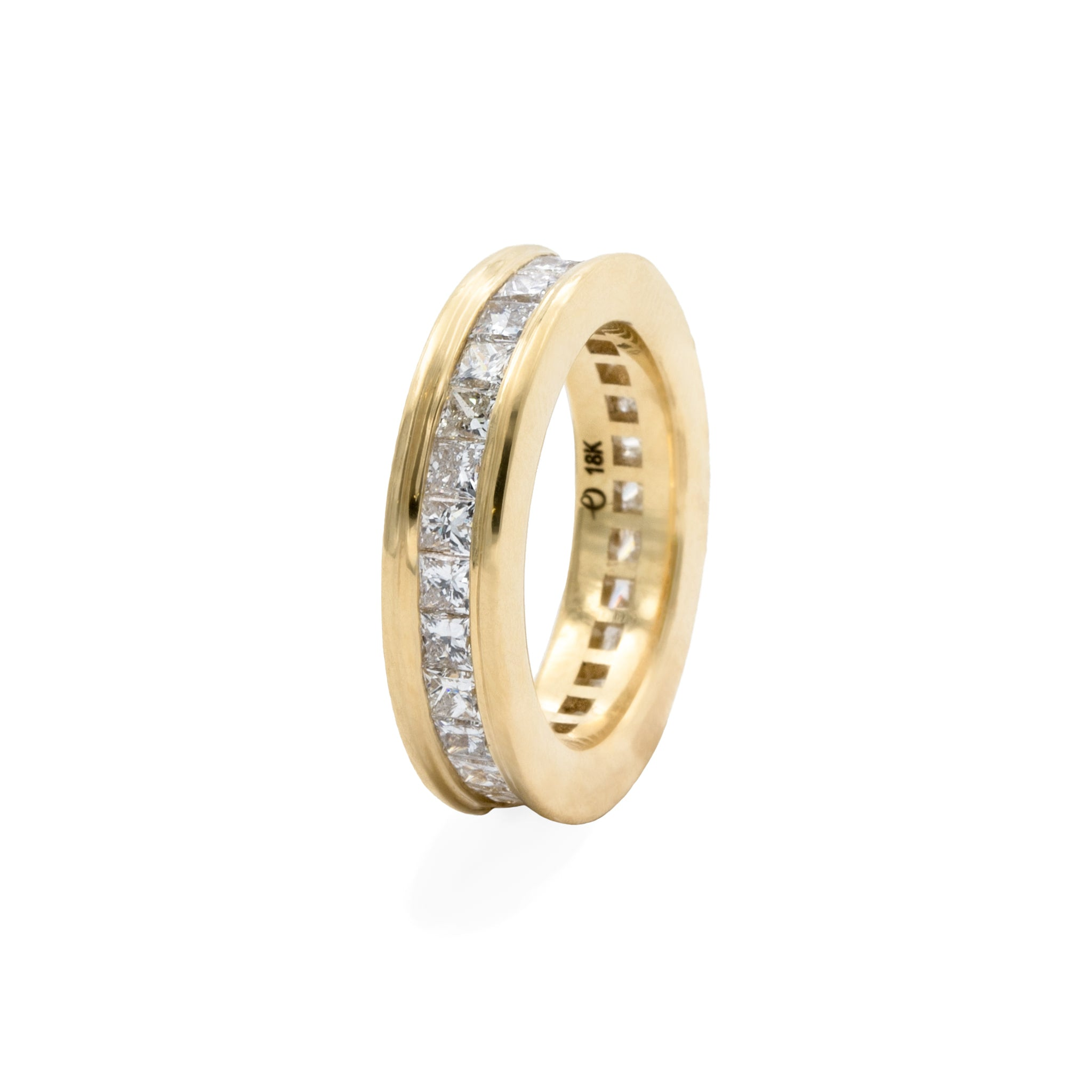 Diamond Ivy Eternity Ring