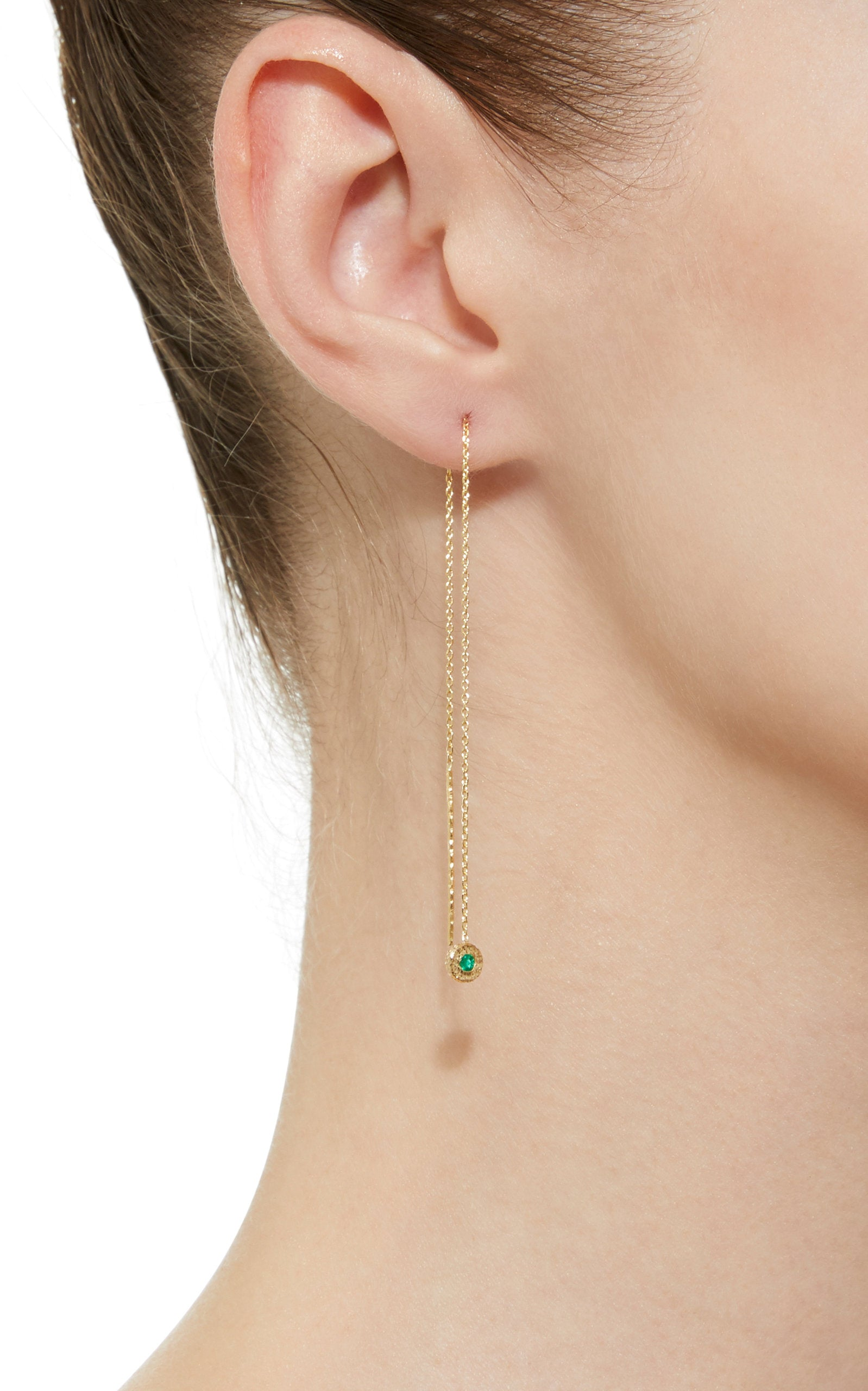 Nesting Gem Drop Earring