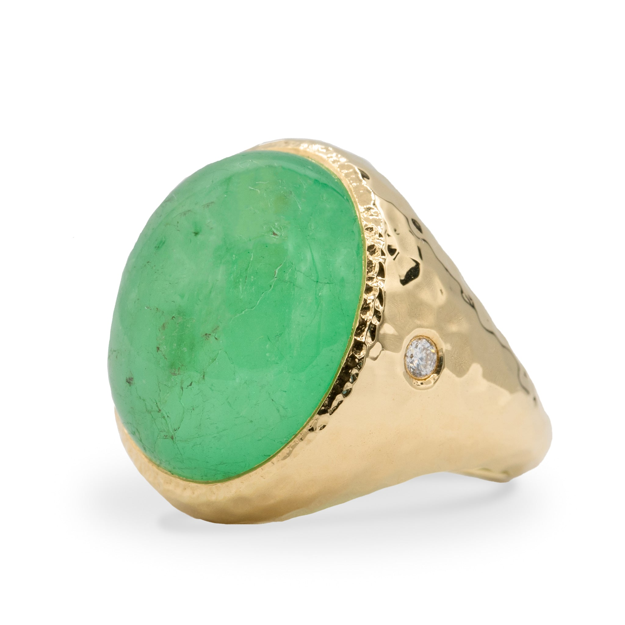 Emerald Aura Ring