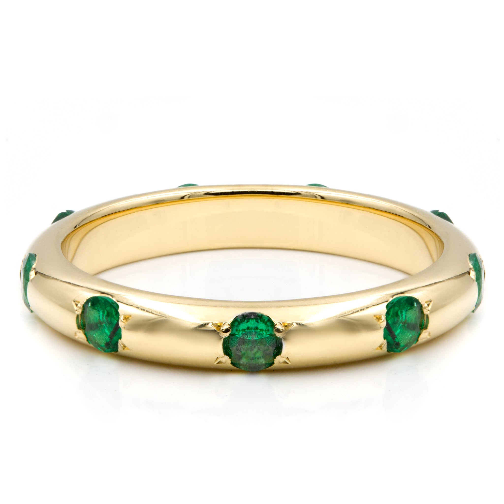 Emerald Ivy Rounded Ring