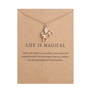 "Wish ""Life is Magical"" Necklace"