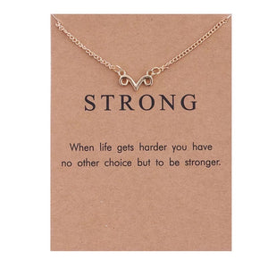 "Wish ""Strong"" Necklace"