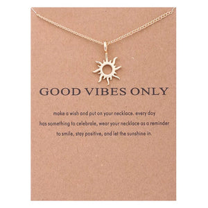 "Wish ""Good Vibes Only"" Necklace"