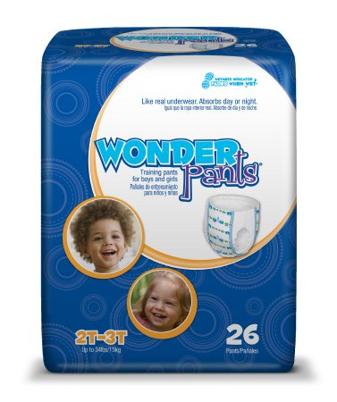 Toddler Training Pants WonderPants® Pull Up Disposable Heavy Absorbency