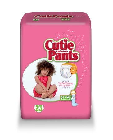 Girls Toddler Training Pants Cutie Pants™ Pull Up Disposable Heavy Absorbency