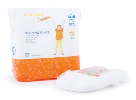 Toddler Training Pants McKesson Pull Up Disposable Heavy Absorbency