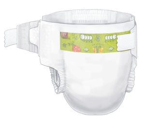 Baby Diaper Curity™ Tab Closure Disposable Heavy Absorbency