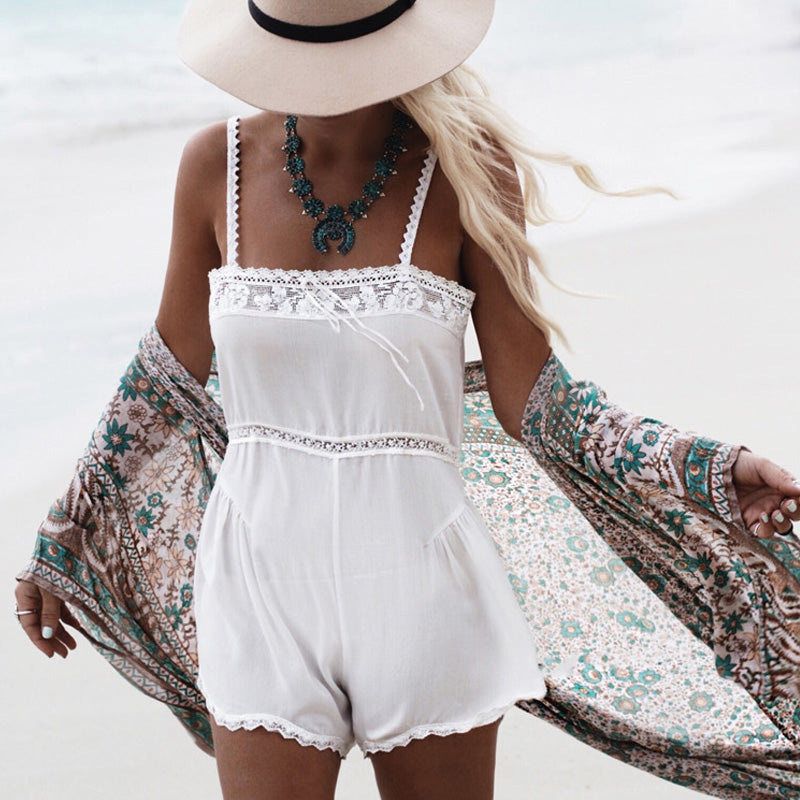Boho Floral Pattern Open Front Chiffon Maxi Cover Up