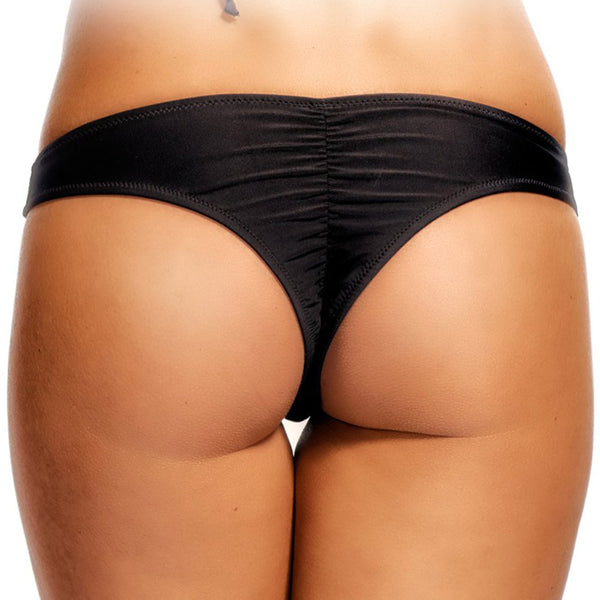 Srunch Back Low Rise Brazilian Bikini Bottom