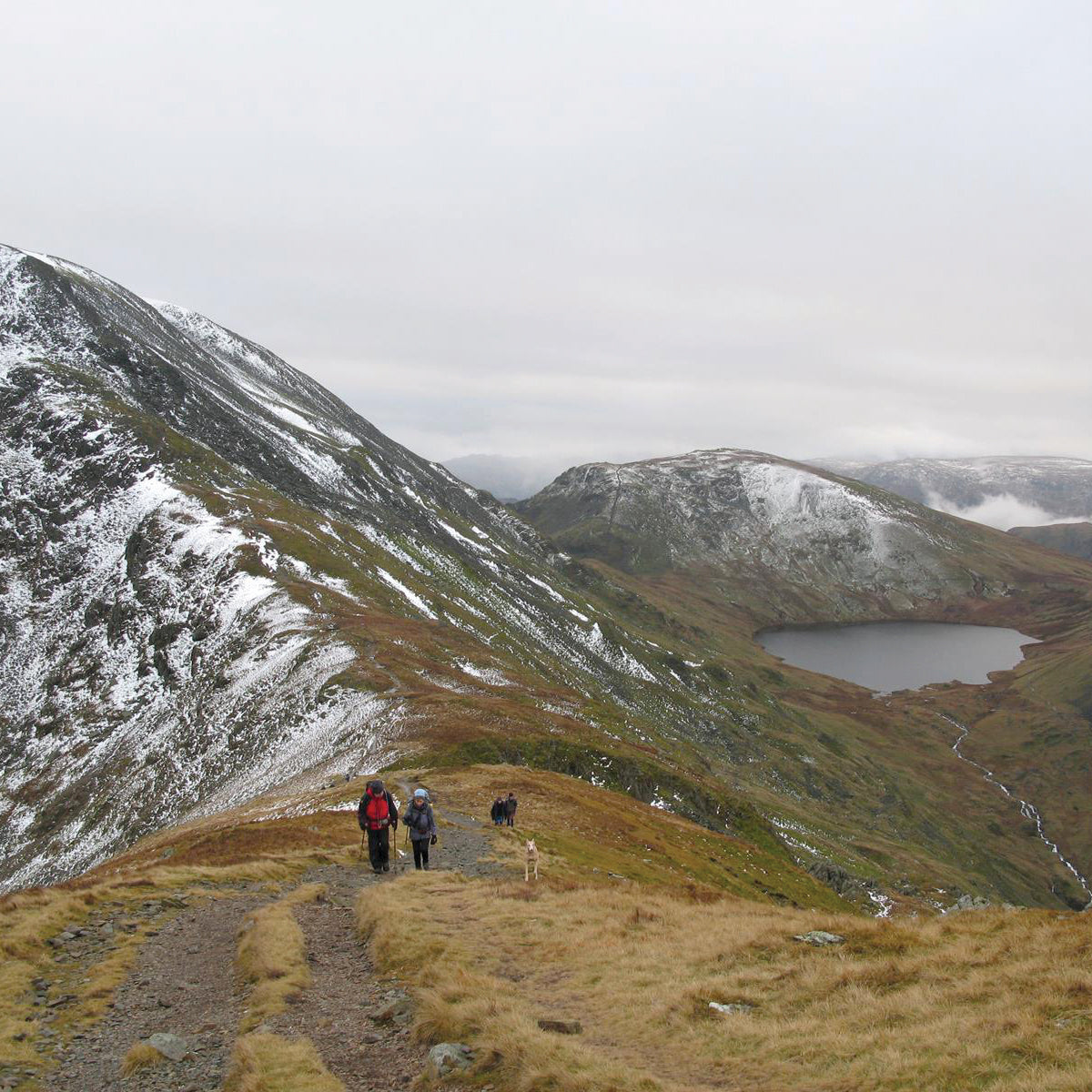Image for article This month's walk: St Sunday Crag and Hartsop Over How
