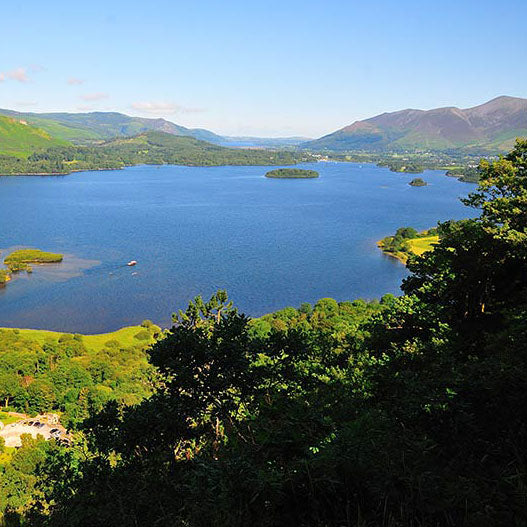 Image for article WALK OF THE MONTH - a hilltop view of Derwentwater