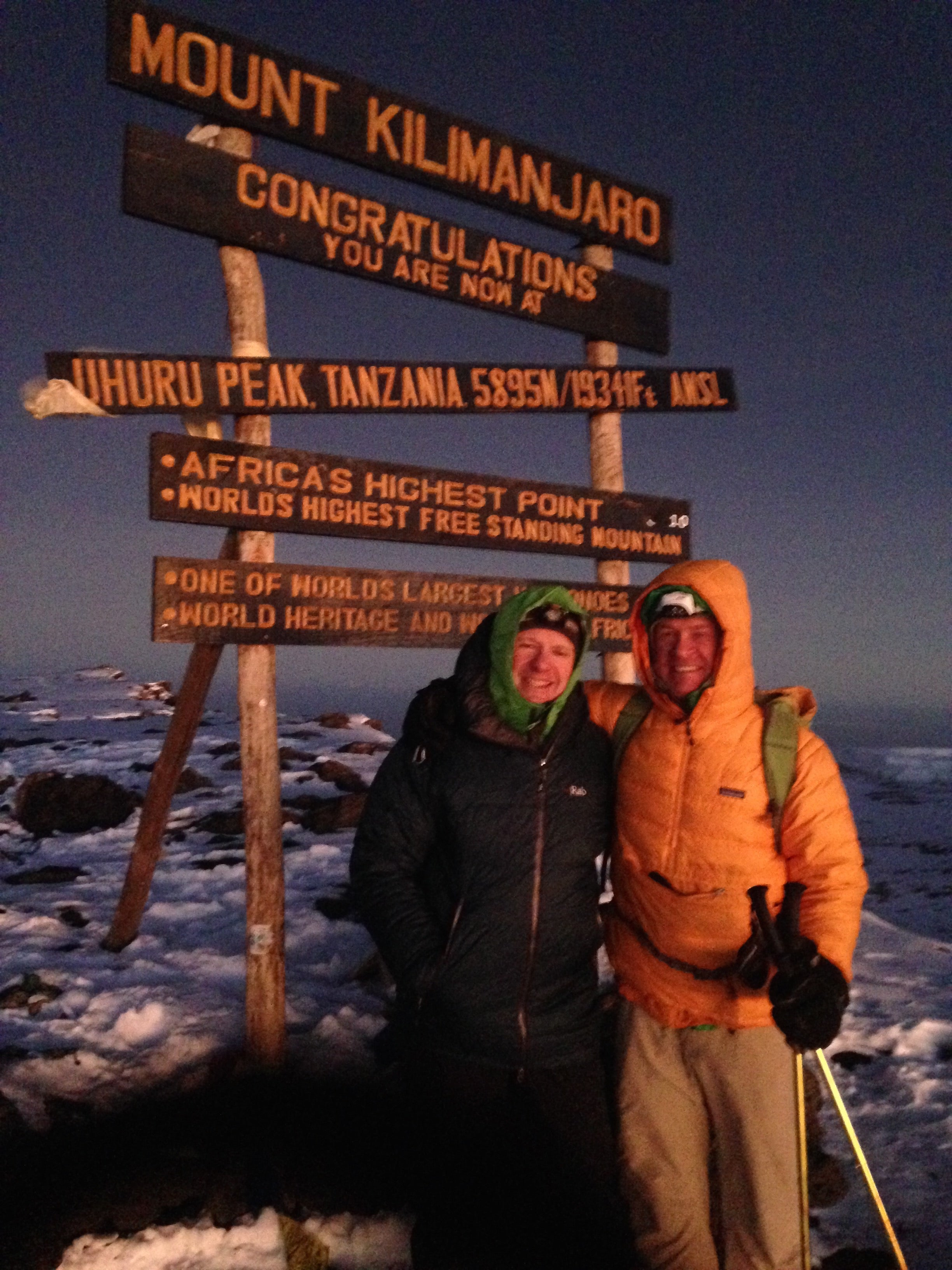 Image for article Chilly on Kili