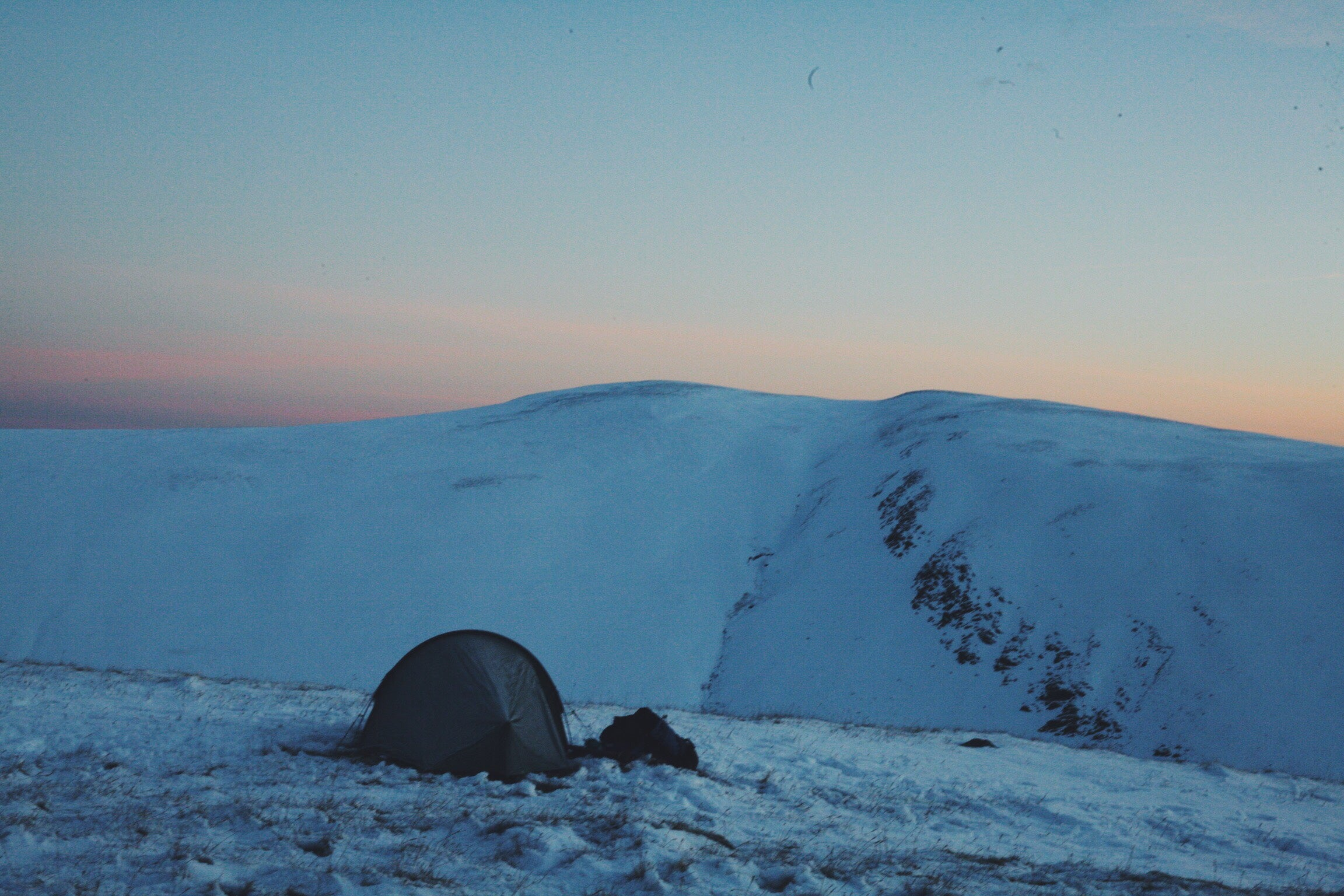 Image for article Adventures before work - A Winter Wildcamp