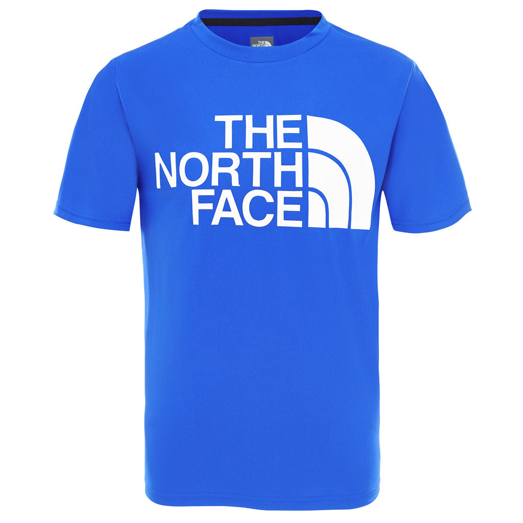 North Face BASE LAYER Top Kid's SS Reaxion 2 Tee TNF Blue