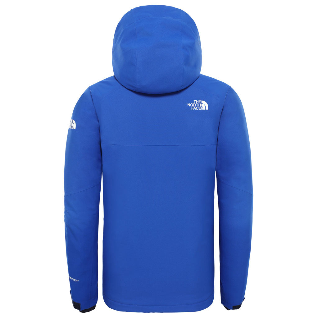 North Face SKI Jacket Boy's INSULATED Chakal TNF Blue
