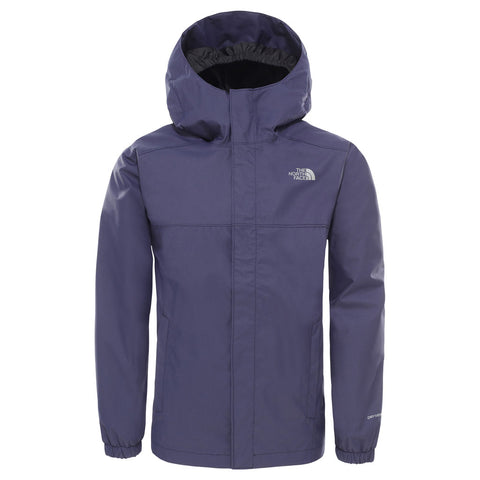 North Face WATERPROOF Jacket Boy's Reflective Resolve Montague Blue