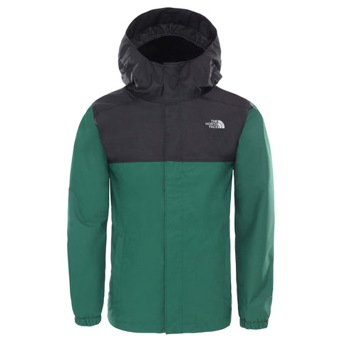 North Face WATERPROOF Jacket Boy's Reflective Resolve Night Green