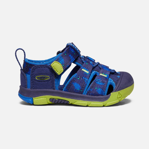 Keen Kids' Newport H2 Tots- Blue Depths/ Chartreuse