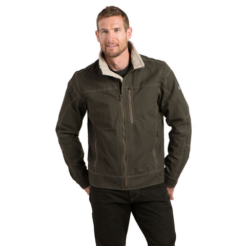 Kuhl Jacket Men's Burr Lined Gunmetal