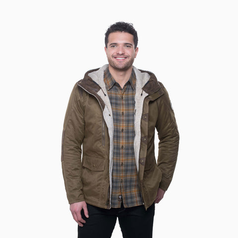 Kuhl Jacket Men's Arktik Dark Khaki