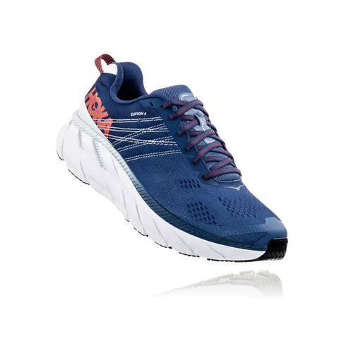 Hoka Running Shoes Men's Clifton 6 Ensign Blue/Plein Air