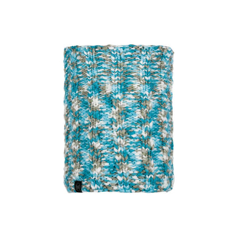 Buff Knitted & Polarfleece Neck Warmer Livy Aqua