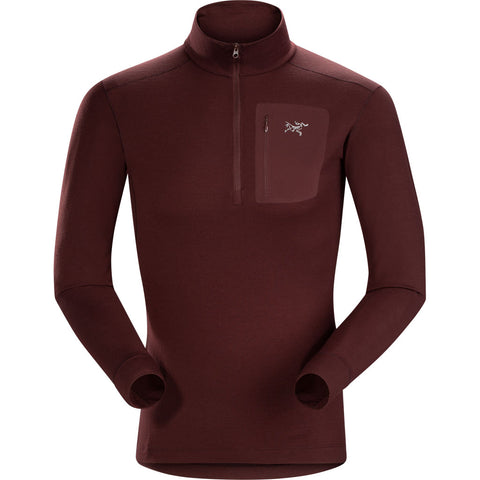 Arc'teryx BASE LAYER Top Men's Satoro AR Zip Neck LS Flux