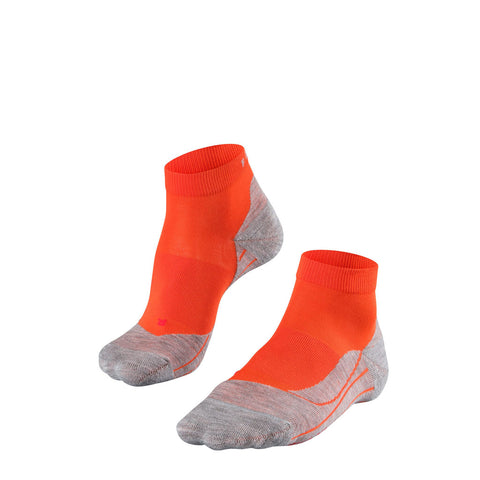 Falke RUNNING Socks Women's RU4 Cushion Short Samba Orange