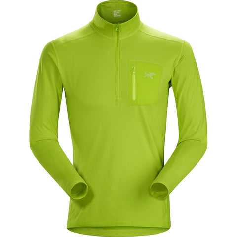 Arc'teryx BASE LAYER Top Men's Rho LT Zip Neck Utopia