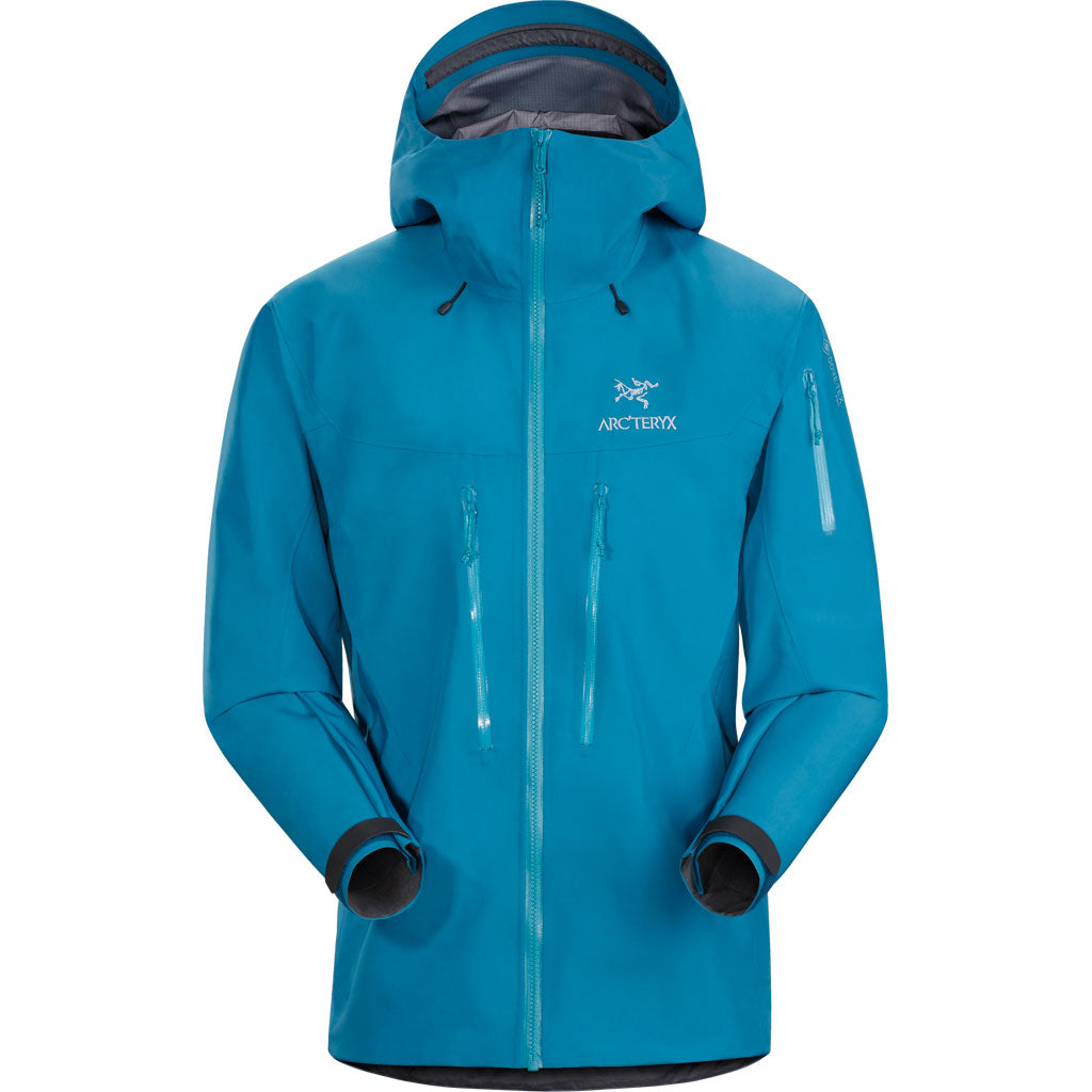 Arc'teryx WATERPROOF Jacket Men's Alpha SV Thalassa Blue