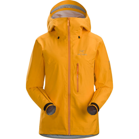 Arc'teryx WATERPROOF Jacket Women's Alpha FL Dawn Yellow