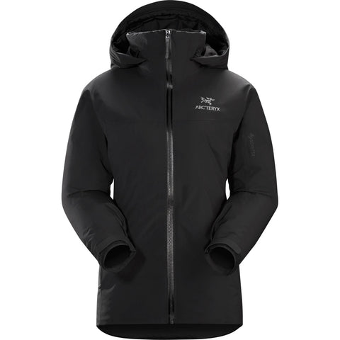 Arc'teryx INSULATED WATERPROOF Jacket Women's Fission SV Black