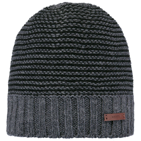 Barts Hat Men's David Beanie Dark Heather