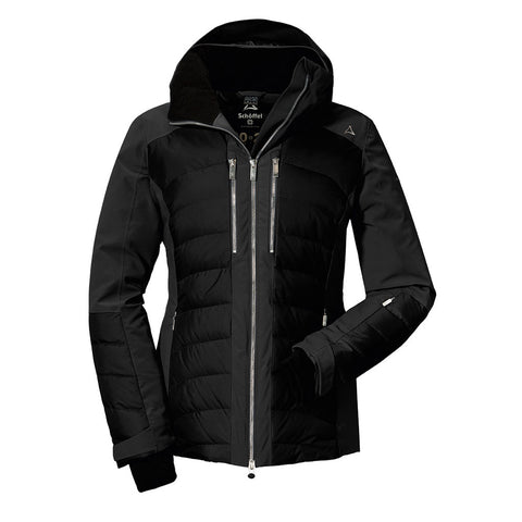 Schoffel SKI Jacket Women's Down Maribor3 Black