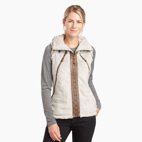 Kuhl FLEECE Top Women's Flight Vest Stone