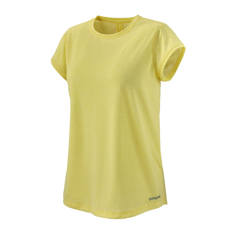 Patagonia Women's Ridge Flow T-shirt - Yellow