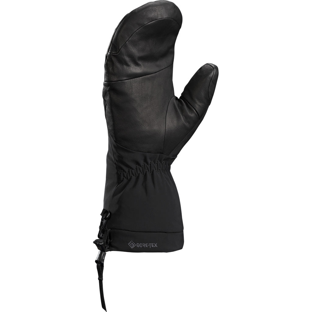 Unisex Arc'teryx Waterproof Fission SV Mittens - Black