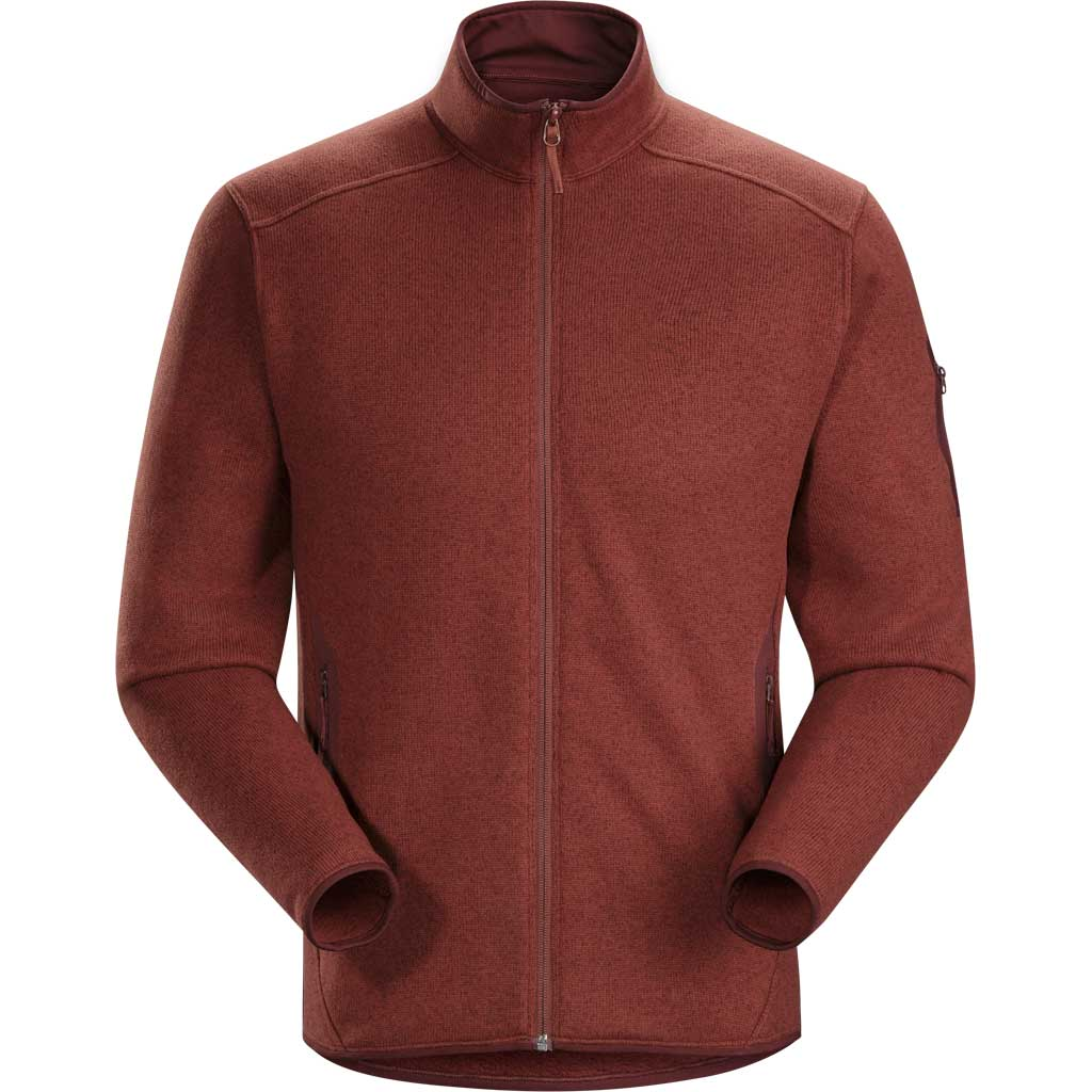 Arc'teryx FLEECE Jacket Men's Covert Cardigan Redox Heather