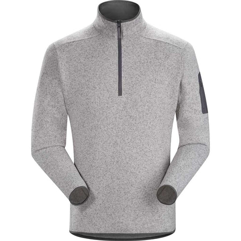 Arc'teryx FLEECE Top Men's Covert 1/2 Zip Pullover Pegasus Heather