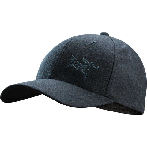Arc'teryx Hat Wool Ball Cap Navy Heather