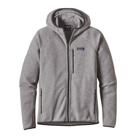 Patagonia FLEECE Jacket Men's Performance Better Sweater Hoody Feather Grey