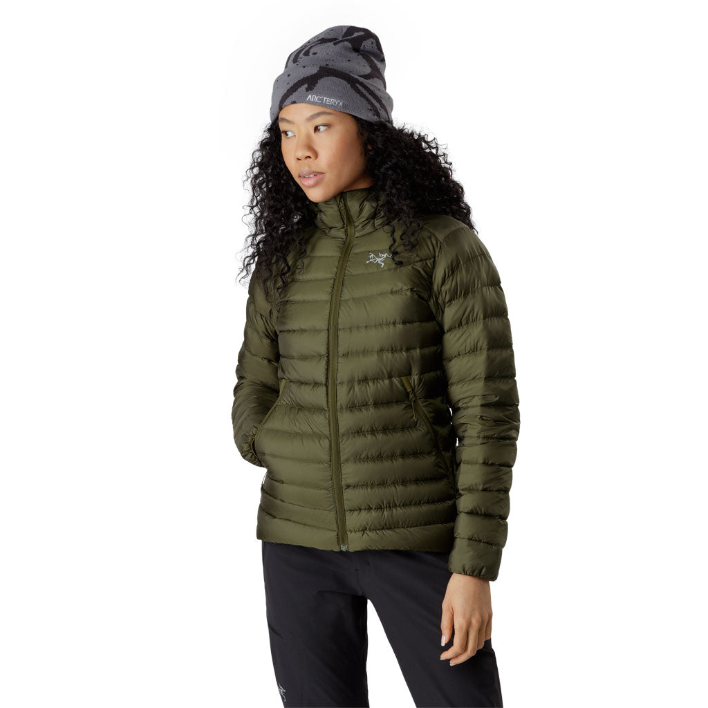 Arc'teryx INSULATED Down Jacket Women's Cerium LT Hoody Bushwhack